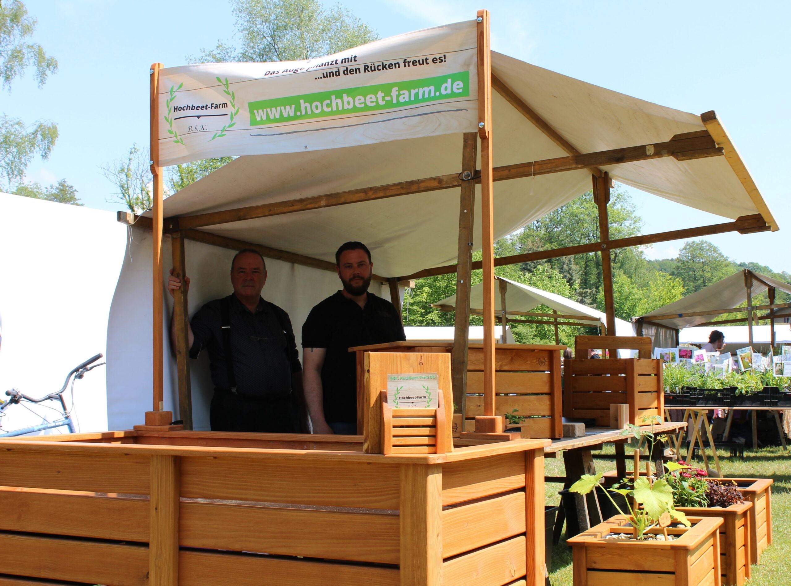 Sascha Klotzbach, Hochbeet, Pflanzkasten, Buckower Gartentag
